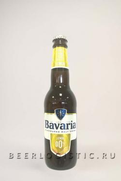 Пиво Бавария безалкогольное Лимон (Bavaria Lemon 0%)  0.33 л