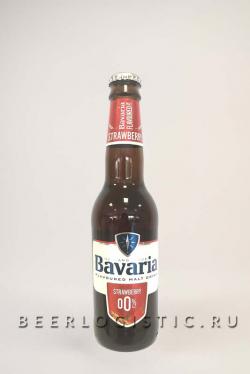 Пиво Бавария безалкогольное Клубника (Bavaria Strawberry 0%)