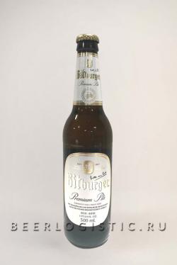 Пиво Bitburger Premium Pils (Битбургер Премиум Пилс) 0,5 л бутылка