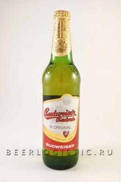 Будвайзер 500 мл светлое бутылка