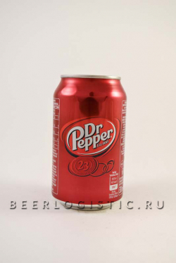 Др. Пеппер 330 мл банка