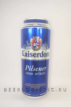 Кайзердом Пилснер 0.5 л банка