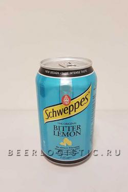 Швепс Биттер Лимон 0,33 банка