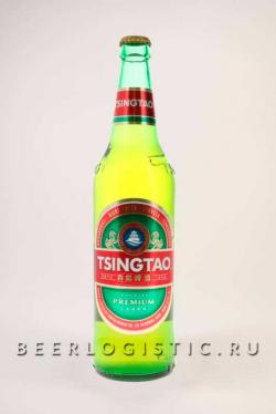 Пиво Циндао (Tsingtao) светлое 0,64 л