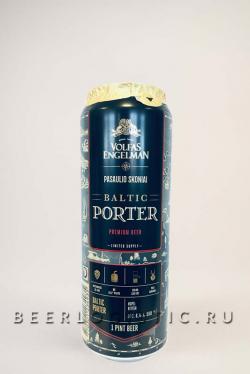 Пиво Volfas Engelman Baltic Porter (Вольфас Энгельман Балтик Портер)