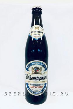 Вайнштефан Хефе Вайсбир безалкогольное (Weihenstephaner Hefe Weissbier Alkoholfrei)