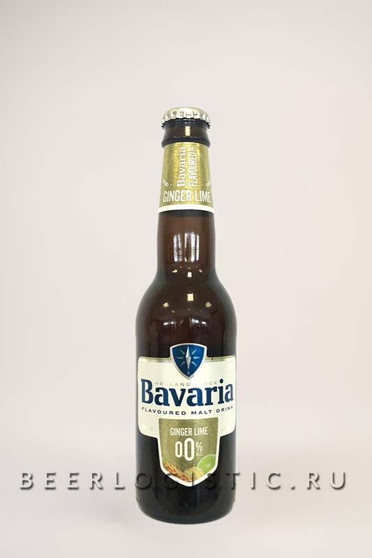 Бавария Имбирь-Лайм б/а 330 мл бутылка