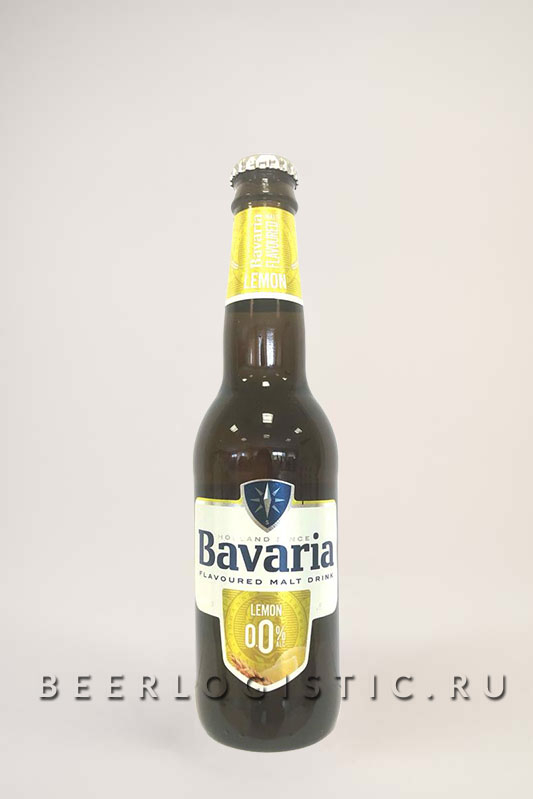 Бавария Лимон б/а 330 мл бутылка