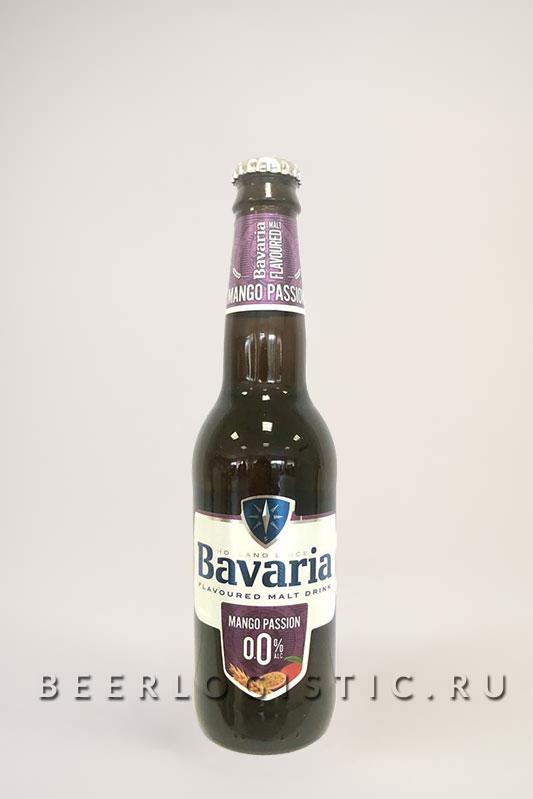 Бавария Манго б/а 330 мл бутылка