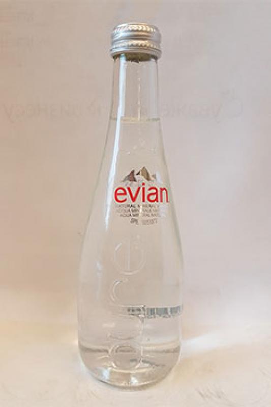 Эвиан 330 мл стекло
