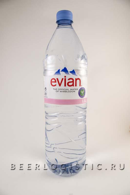 Эвиан 1500 мл пластик