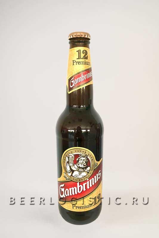 Гамбринус Премиум 500 мл бутылка