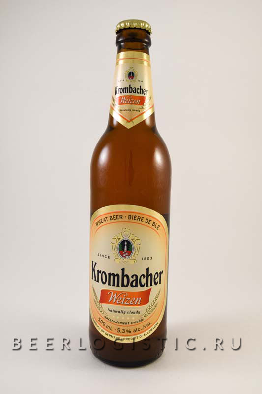 Кромбахер вайцен 500 мл бутылка