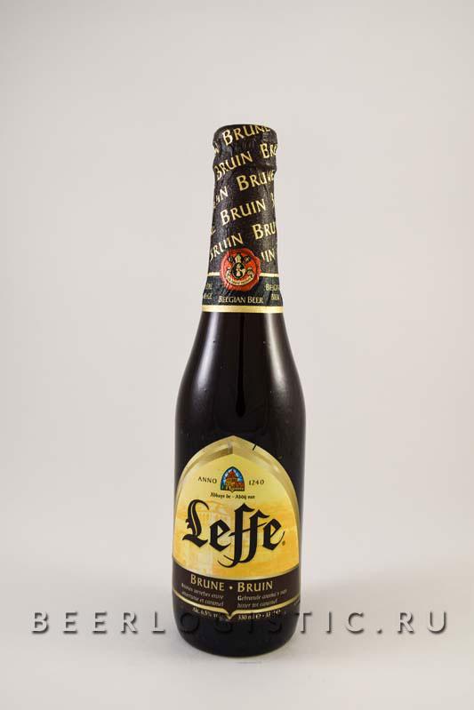 Леффе Брюн 330 мл бутылка