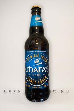 Пиво Охара Крафт Лагер (O'haras Craft Lager)