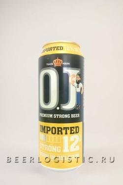 Пиво Оджей Стронг 12% (OJ Strong 12%)