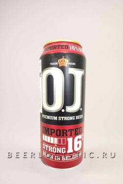 Пиво Оджей Стронг 16% (OJ Strong 16%)