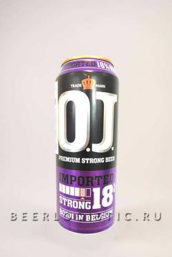 Пиво Оджей Стронг 18% (OJ Strong 18%)