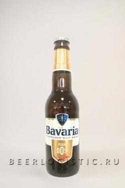 Бавария Персик б/а 330 мл бутылка