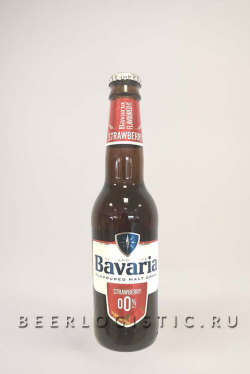 Бавария Клубника б/а 330 мл бутылка