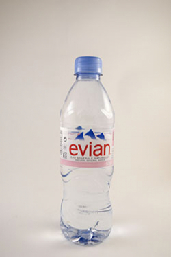 Эвиан 500 мл пластик