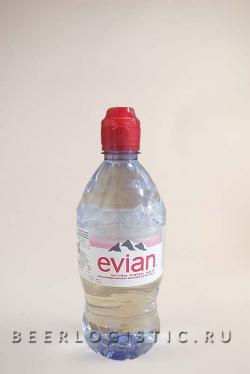 Эвиан 750 мл пластик
