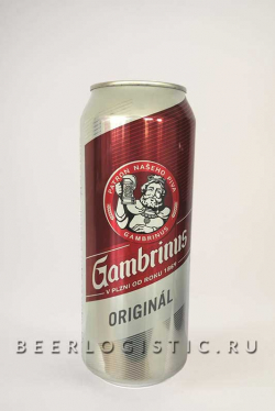 Гамбринус Оригинал 500 мл банка