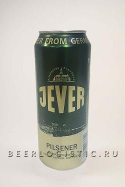 Джевер (Jever) 500 мл банка