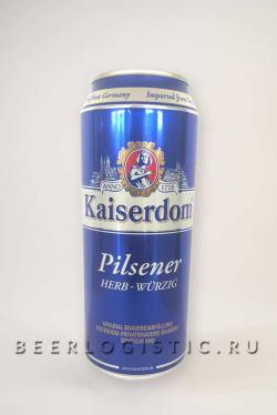 Кайзердом Пилснер 0,5 л банка