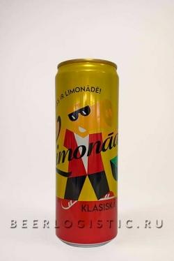 Лимонад Limpo Klassiska 0,355 банка