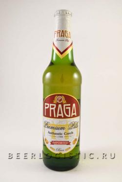 Прага Премиум Пилс 500 мл бутылка